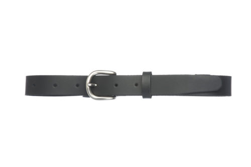 NOEL N – Leather belt with rounded buckle